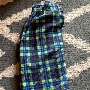 Boys pajama bottoms size 6-7 (faded glory)